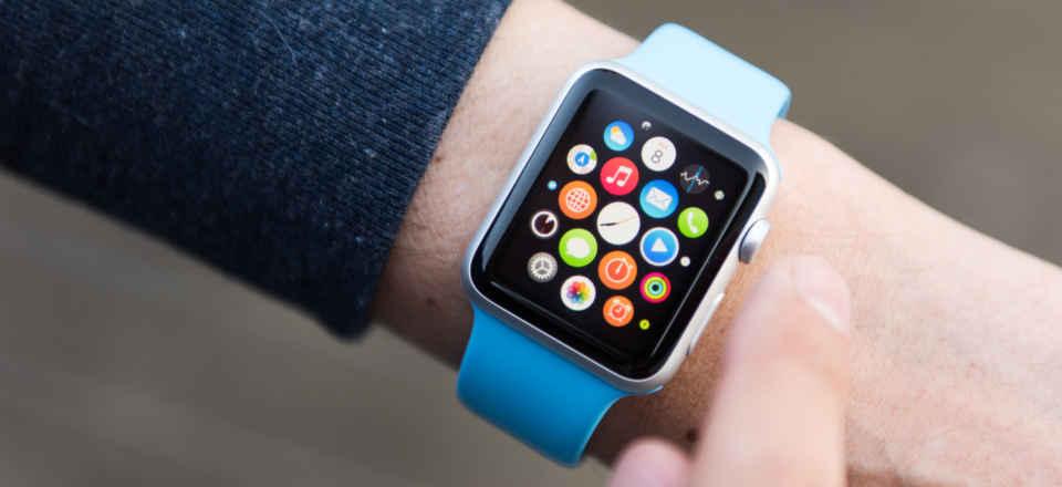 microled watch display